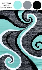 seafoam green area rug mint round rugs and brown
