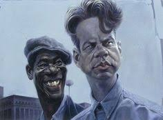 shawshank redemption caricature words cannot describe how talented sebastian kruger is at drawing caricatures