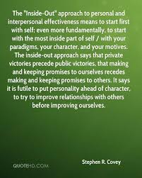 Personal Quotes Delectable Stephen R Covey Quotes QuoteHD