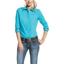 Ariat Kirby Stretch Long Sleeve Button Down Shirt