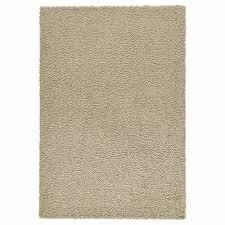ikea hampen rug high pile beige home living bedroom 133 x 195cm