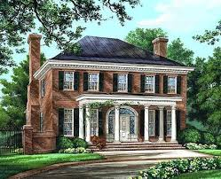Georgian Porch Designs Landscaping Plans  Front Porches On Colonial Homes  Inspiring