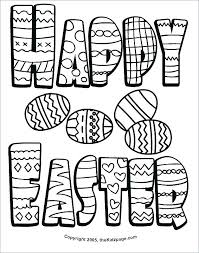 Fun Easter Coloring Pages Bestlink