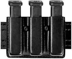 Glock Magazine Holder Triple Mag Pouch Open Top Plain Black Glock 100 100100100 95
