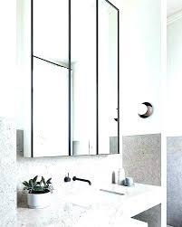 black framed bathroom mirrors. Black Framed Vanity Mirror Bathroom Mirrors For Marble Long Round
