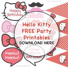 Liques Antics Haileys Hello Kitty Diy Birthday Party At Shakeys