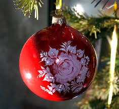 beautiful christmas decorations. Tree Branch Red Produce Holiday Christmas Ornament Decoration Postcard Beautiful Decorations New
