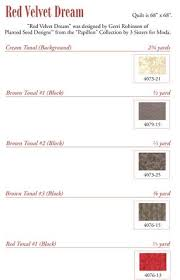 Red Velvet Dream  PDF Quilt Pattern – Planted Seed Designs & ...
