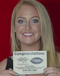"Perfect Competition... Josie Gibson with a golden ticket. Meanwhile last year's winner Josie Gibson added: ""The Golden Ticket competition is perfect for ... - Josie-Gibson-Ticket"