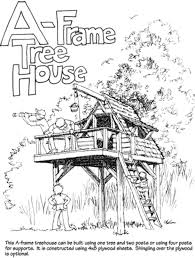 how to draw a treehouse step by step. Beautiful Draw In How To Draw A Treehouse Step By