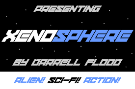 Xenosphere Font By Dadiomouse Creative Fabrica