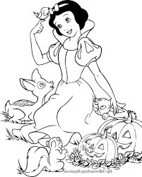 Disney Halloween Coloring Pages » Coloring Pages Kids