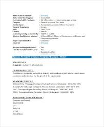 Resume Model For Experience Candidate 21 Fresher Resume Templates Pdf Doc Free Premium