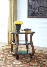 round end tables for living room signature design by table at