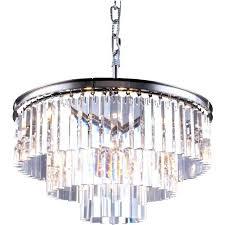 odeon crystal chandelier crystal chandelier apex clear glass fringe 5 tier concept empress odeon crystal fringe