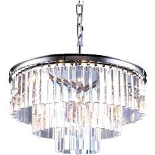 odeon crystal chandelier crystal chandelier apex clear glass fringe 5 tier concept empress odeon crystal fringe