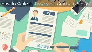 How To Write A Resume For Graduate School In Slp
