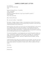 Formal Letter Format To Company Reply To Complaint Letter Template