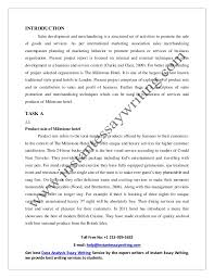 sample report on s development and merchandising by instant essay 2 4