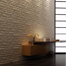 embossed d wall panels textured design art pack of tiles sq images ft in stickers from