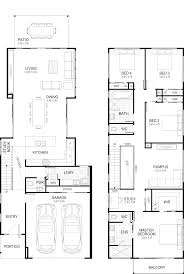 Narrow Home Plans Designs Floor Plan Home Plans In 2019 Narrow House Plans Narrow