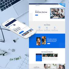 Startup Landing Page For Business Entrepreneurs Motocms