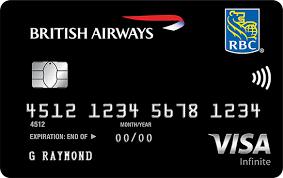 Earn Avios With The Rbc British Airways Visa Infinite Travel Rewards Credit Card