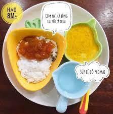 Thực đơn ăn dặm kiểu Nhật 9 tháng của bé Hạo - Thực đơn ăn dặm