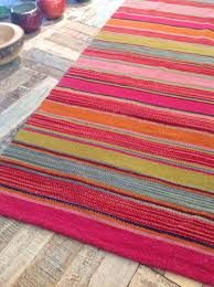 green orange stripe rug striped rugs