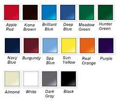 rustoleum paint color chartRustOleum Painters Touch Spray