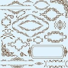 simple frame border design. Perfect Border Simple Frame With Borders And Ornaments Vector Design 01 Screenshot Intended Frame Border Design
