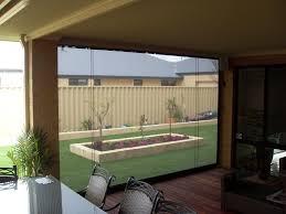 patio wind block new outdoor blinds australia
