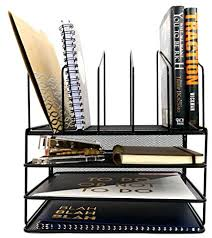 desk office file document paper. Black Wire Mesh Desk Organizer Paper Tray Vertical File Letter Inbox Office Desktop Document Metal O