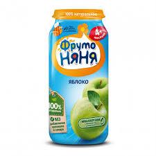 <b>Пюре фруктовое</b> «<b>ФрутоНяня</b>» яблоко, 250г | Супермаркеты ...