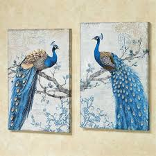 peacock canvas wall art magnificent peacock canvas wall art blue set of two peacock framed canvas on set of two framed wall art with peacock canvas wall art magnificent peacock canvas wall art blue set