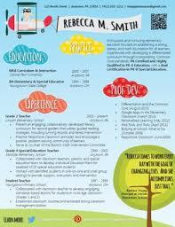 Modern Resume For Instructors Creative Teacher Resume Soaring Template Teacher Resume