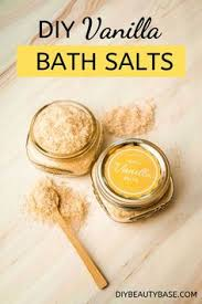 <b>Easy Vanilla</b> Bath Salt | Recipe - Pinterest
