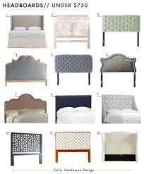 best place to buy headboards.  Headboards Affordable Headboards Under 750 Roundup Emily Henderson Design Intended Best Place To Buy