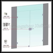 capital frameless glass door frameless commercial double glass doors double swing door view