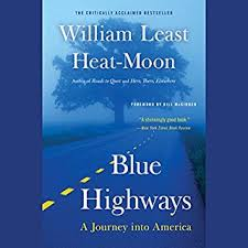 travels charley in search of america audiobook com blue highways cover art