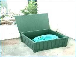 garden hose storage box ideas creative on wheels hose storage ideas eagle one garden box