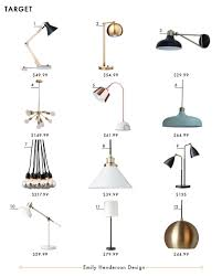 crosby collection large pendant light. Brass Ceiling Lights | 5. Threshold Copper Task Lamp With White Marble Base 6. Crosby Collection Large Pendant Light T