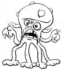 モンスターの漫画キャラクターの塗り絵 おとぎ話のベクターアート素材や画像を多数ご用意