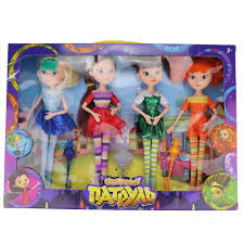 (<b>Jimusuhutu</b>) <b>4pcs/lot New Style</b> Fairy Patrol High Doll MAWA BAPR ...