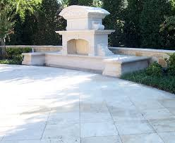 carved stone outdoor fireplace outdoor fireplace forevergreen landscape dallas tx