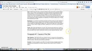 war essay conclusion paragraph