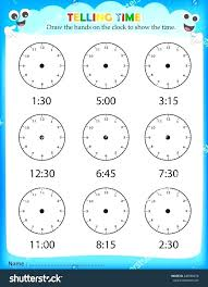 Telling Time Worksheets Quarter Hours Pack 6 1 To The Hour Matching ...