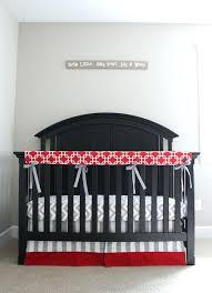 baseball crib bedding set red gray crib bedding set baseball baby nursery grey chevron crib sheet