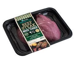 beef mock tender steak rakvere lk