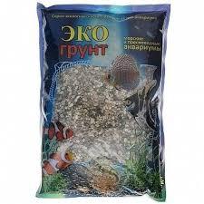 Грунт для аквариума <b>Галька Эко Реликтовая</b> №3 6-10 мм 3,5 кг ...